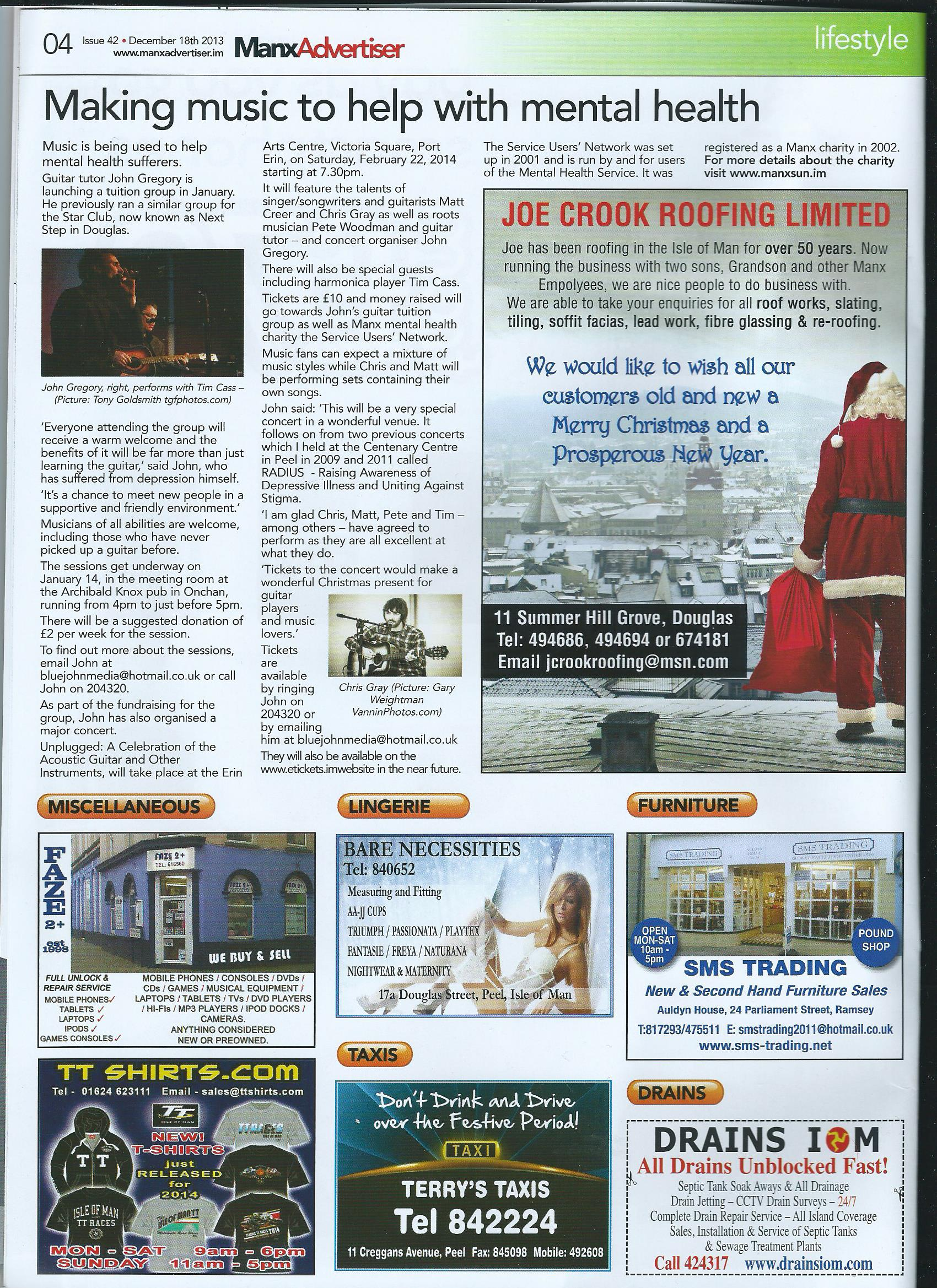 Manx Advertiser - Dec 18 2013